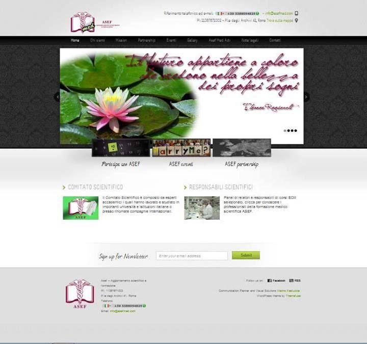 Website for ASEFmed: www.asefmed.com