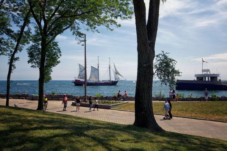 Ontario Place Toronto park and marina