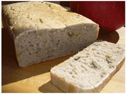 Glutenfrit brød med solsikkekerner - Opskrift