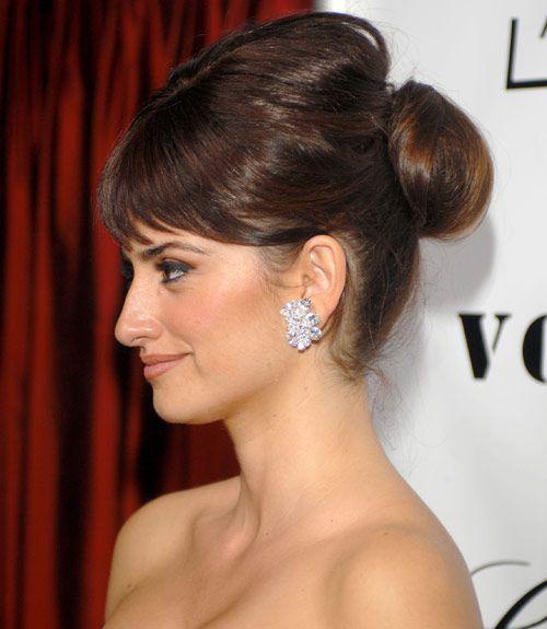 25 meilleures images du tableau Celebrity buns | Hair Updo ...