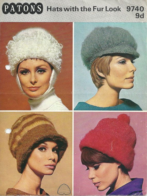 The 108 Best Patons Yarn Vintage Patterns Images On Pinterest