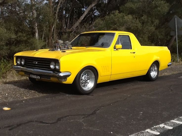"Holden 1970 HT ute blown 350 chev Muncie 4 speed 9"" diff in Cars, Bikes, Boats…"