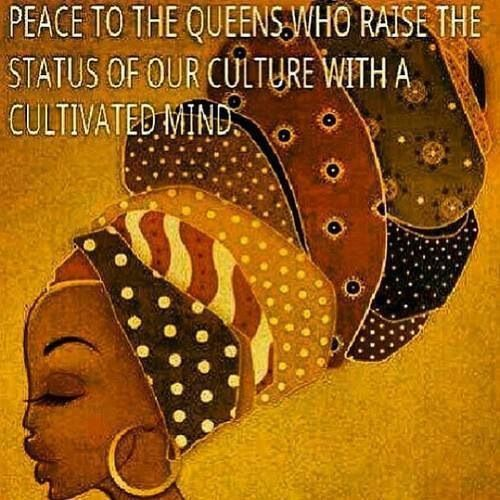 African Queens Knowledge Is Power Pinterest African Art Classy Rasta Queen Quotes