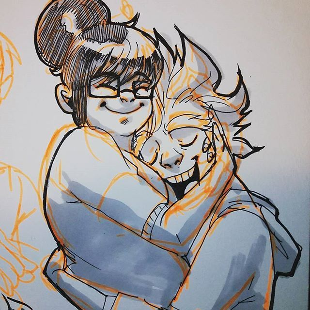 The good stuff  #meihem #meilingzhou #junkrat #overwatch #art #sketch #latenightdrawing