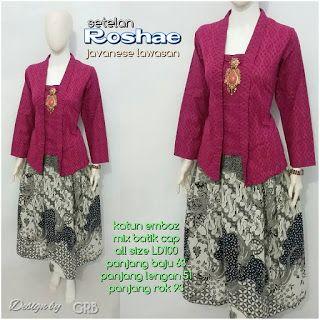 Baju Batik Kerja Wanita, Grosir Batik Solo, Baju Batik Pria: Stelan Kebaya, Kebaya Modern, Kebaya Wisuda