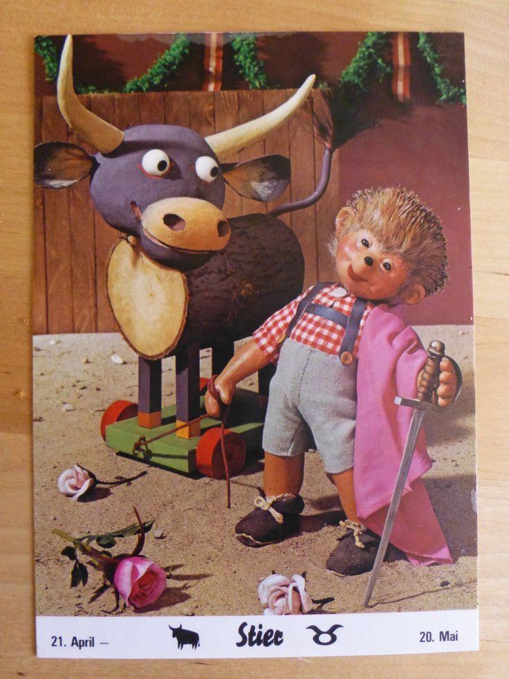 postkarte ak mecki 1002 sternzeichen stier vom 21 april 20 mai ebay mecki diehl. Black Bedroom Furniture Sets. Home Design Ideas