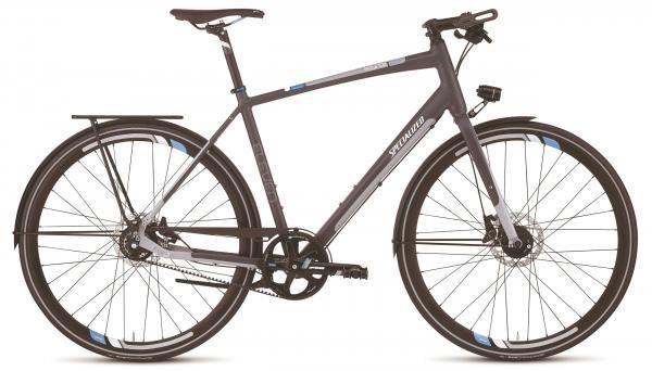 """Specialized Source Eleven 2012 Belt & disc (28"""" Alfine 11)   /   2700€? existe en 8V à chaine > nouveau modèle :  http://www.specialized.com/be/fr/bikes/fitness/source/source-eleven-disc"""