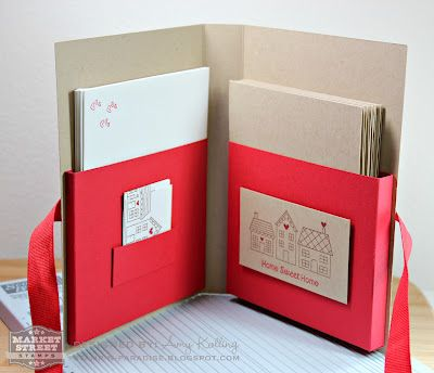 Notecard Gift Set by Amy Kolling of Stamp-n-Paradise. Tutorial included!