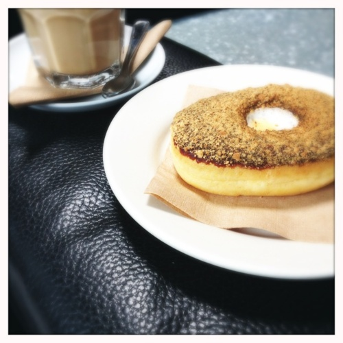 S'mores Donut & Latte @ Octane Coffee: Milk, Names, Food, Posts, Donuts, Octane Coffee, S Mores Donut