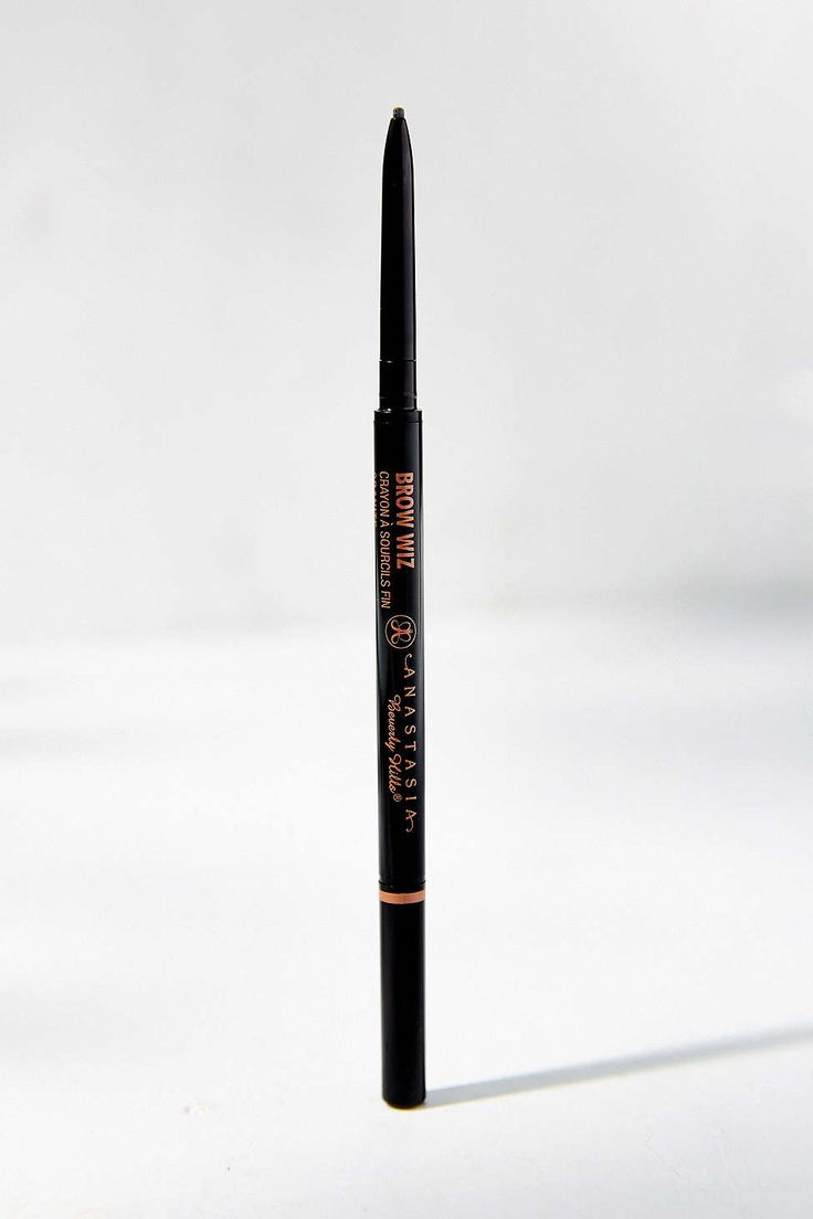 Anastasia Beverly Hills Brow Wiz (Mechanical Pencil) I also use it with the Anastasia Brow Powder Duo for a more natural look. Easy to apply & creates a look that enhances your entire face.