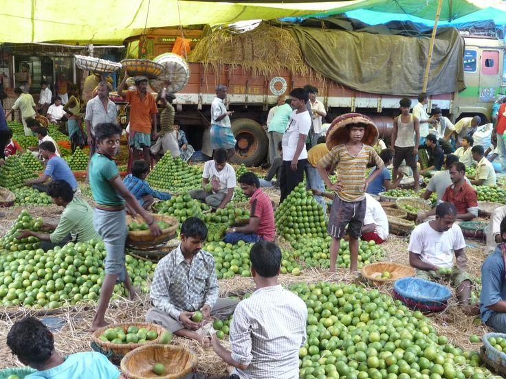 Fruchtmarkt Kalkutta