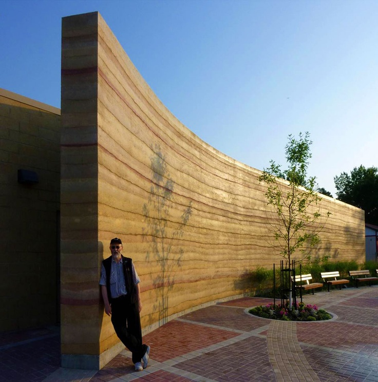 Designing and building with systems such as SIREWALL - engineered sandstone walls that have tons of thermal mass on the warm side of a core of insulation - rolls this shift in priorities back.  Funding for mechanical systems can be slashed in favor of dramatically enhanced architectural character and comfort.