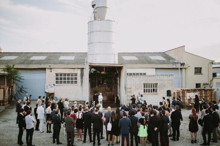 boda en una nave Bodas de Cuento