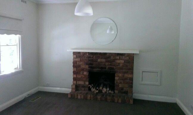 My amazing open fireplace