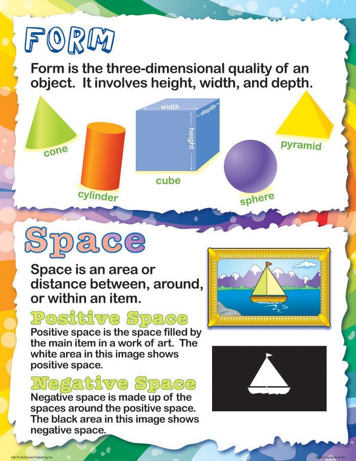 Name The Elements Of Art : Best elements of art space ideas on pinterest visual