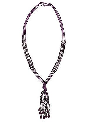Long Seed Tassel Necklace #kaleidoscope #jewellery