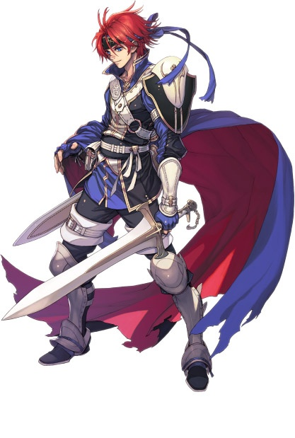 Fire Emblem: Fuin no Tsurugi's Roy (Kakusei DLC version)