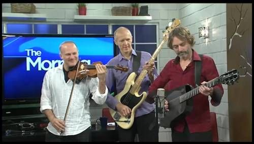 Sultans of String perform live ,  and talk about putting Christmas at the heart of their 6th world music album.