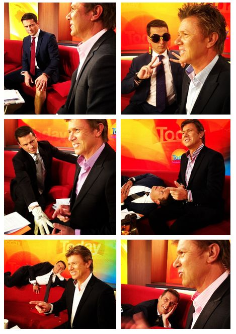 There was all the times he tried to distract his colleague Dickie. | The 34 Most Karl Stefanovic Things To Ever Happen