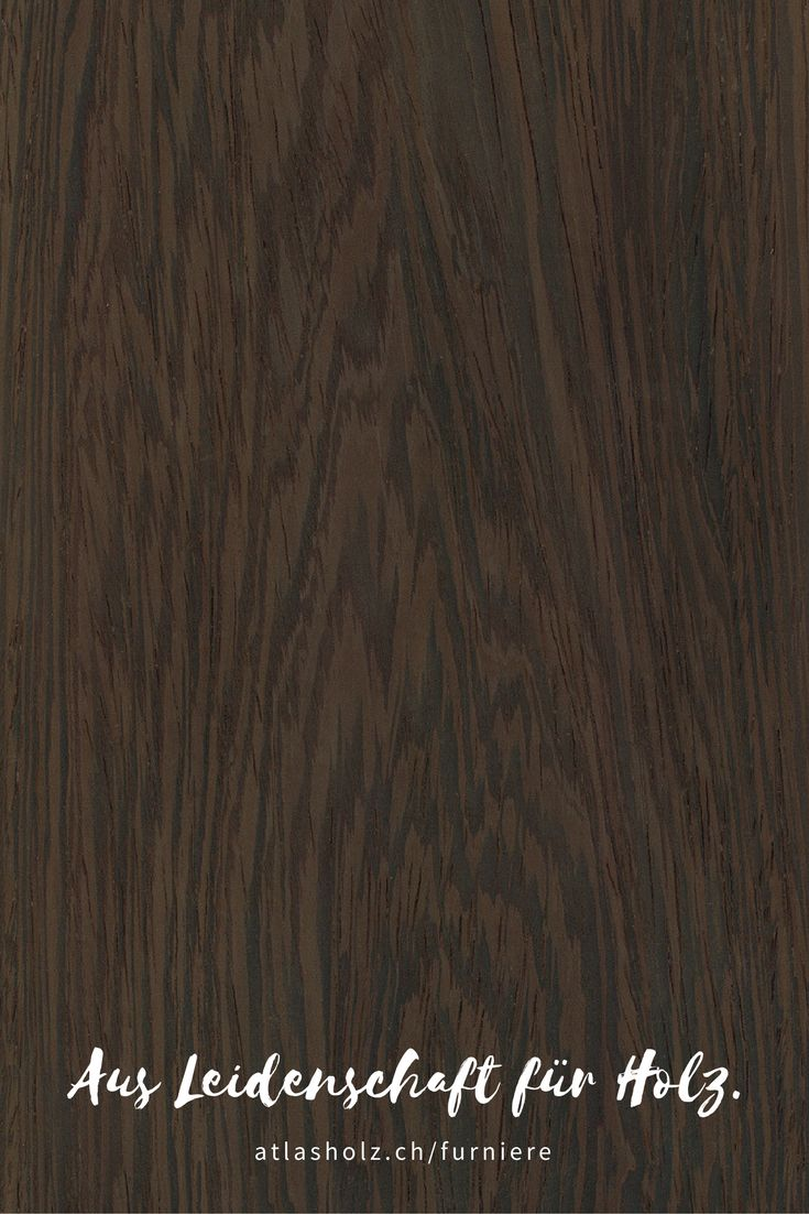 Furniere Wenge | Veneers Wenge | Botanischer Name/Botanical Name: Milletia laurentii