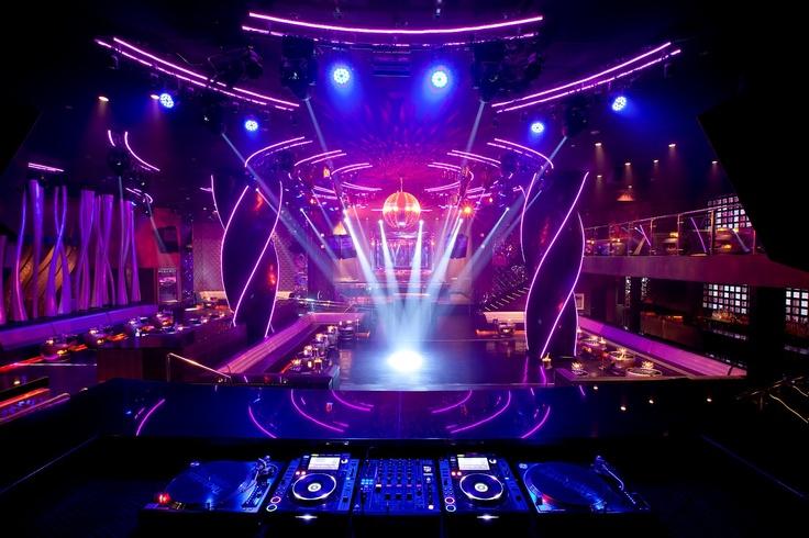 DJ Booth - ORO Nightclub | Nightclub Design | Pinterest