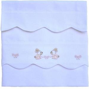 baby sheet hand made embrodery