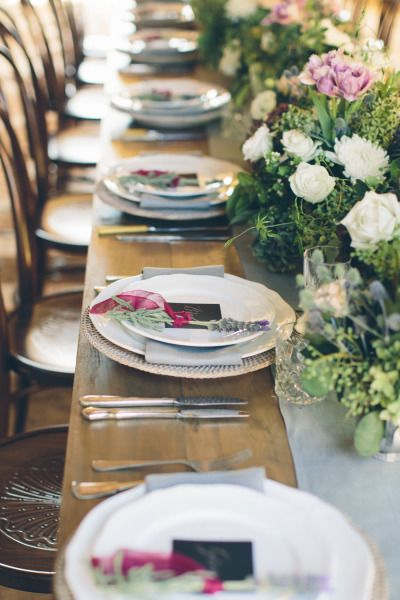 Rustic table: http://www.stylemepretty.com/australia-weddings/new-south-wales-au/byron-bay/2015/04/16/romantic-french-inspired-wedding-inspiration/ | Photography: White Images - http://whiteimages.com.au/