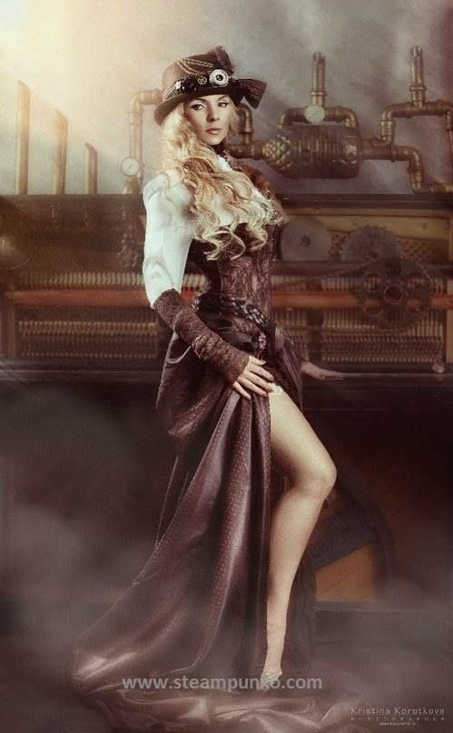 Awesome Women's Steampunk Costume #steampunk #costume #woman #steampunko