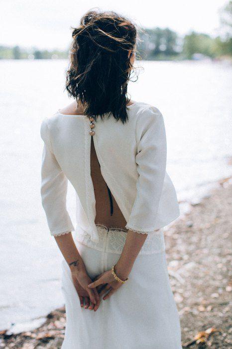 Aurélia Hoang Collection 2016 - Robe de mariée 2016 Gershwin-Georgina ©Ingrid Lepan | La Mariée Sous Les Etoiles