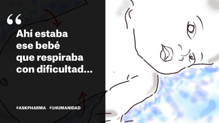 Barbara nos platica sobre la primera vez que atendió a un bebé con neumonía durante una de sus misiones con #MSF. Es una enfermedad mortal prevenible pero la vacuna es muy cara y no todos los niños tienen acceso a ella. Aunque no lloren, hagamos escuchar la voz de los niños en el Día Mundial de la Asistencia Humanitaria y ayudemos a que tengan #UnaVacunaJusta #WorldHumanitarianDay