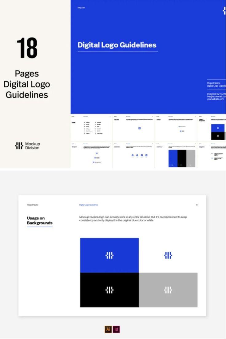 Digital Logo Guidelines Template