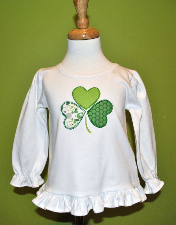 Luck O' The Irish Custom St Patty's Day by HootnHollarClothing, $28.00