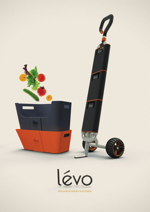 Lévo by Matheus Pinto, via Behance