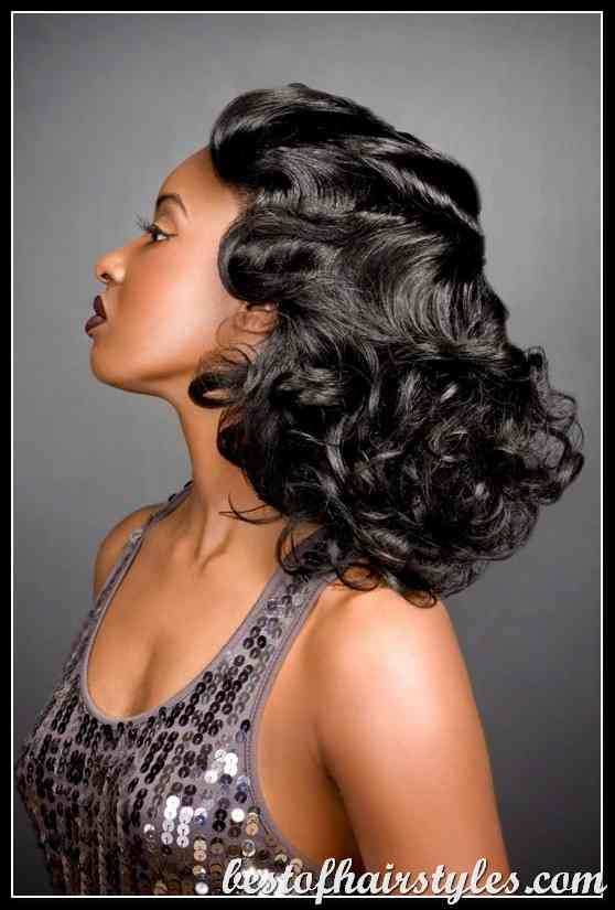 1930 mens hairstyles : 1920s Hairstyles for Black Women 1920s Black Women Burnham ...