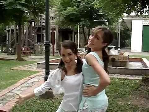 """#VIDEO Lali & Cande mientras grababan una escena de """"Chiquititas 2006"""""""