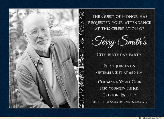 best 25+ 70th birthday invitations ideas on pinterest | surprise, Birthday invitations