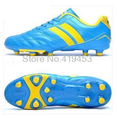 Топ Fg футбольные бутсы мужчины новый подлинный молния серия легкие кроссовки дышащая кожа мужчины футбольные B1054