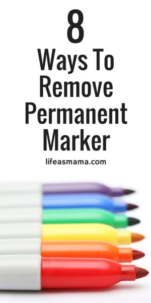 8 Ways To Remove Permanent Marker