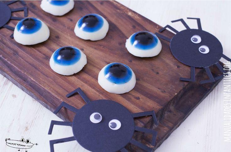 Ojos de gelatina receta halloween