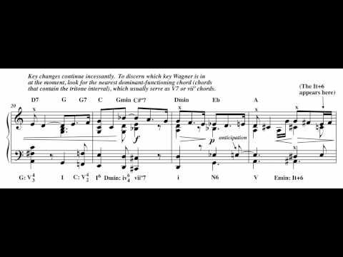 Harmonic Analysis: Wagner's Prelude to Tristan und Isolde, Act I - YouTube