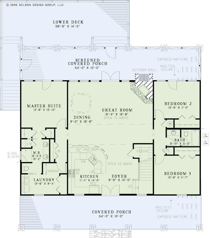 17 best ideas about lake house plans on pinterest lake for Alaska cabin floor plans