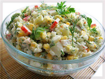 Кулинарная книга Алии: 240. Крабовый салатик