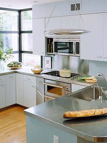Stainless-Steel Countertops