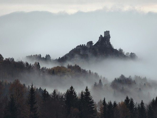 Eerie, Wild Scenes Straight Out of Grimm's Fairy Tales | Ruins of Castle Flossenburg, Germany. | Credit: Photo: Kilian Schönberger | From Wired.com