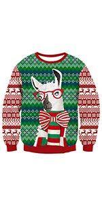 Amazoncom Unisex Ugly Christmas Sweatshirt Hairy Chest Bell Xmas