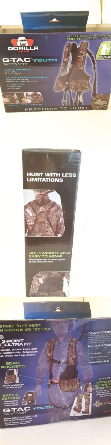 Blind and Tree Stand Accessories 177912: Gorilla Gear G-Tac Youth Safety Vest Tree Stand Harness Model 77508 New In Box -> BUY IT NOW ONLY: $39.99 on eBay!