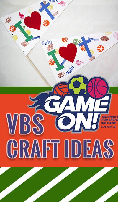 Vbs 2018 Clumsy Crafter Kids Sports Crafts Vbs Crafts Sport