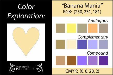 Explore Color:  Banana Mania