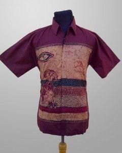 Baju Batik Kombinasi Tulis Pria Modern Motif Wayang KT 21 Kirim Pesan ke 082134923704