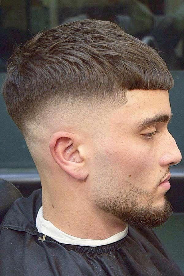Straight Hairstyle #caesarhaircut #haircuts #menhaircuts To infuse yourself with